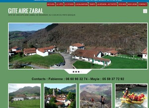Gîte de groupe au Pays Basque